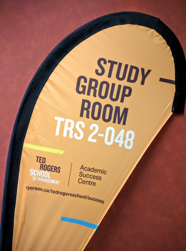 Study Group Room Sign