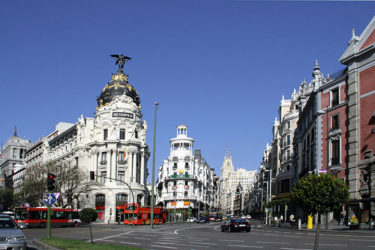 Madrid City Streets