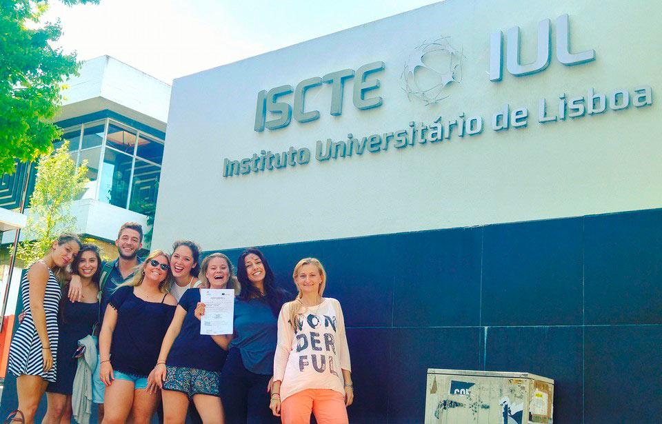 Fellow students at ISCTE